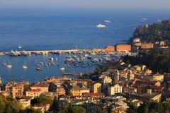 Santa Margherita Ligure Resort. Italy. Riviera ligure Stock Images