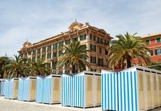 Santa Margherita strand Royaltyfria Foton