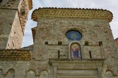 Santa maria abbey of Casalpiano Royalty Free Stock Photo