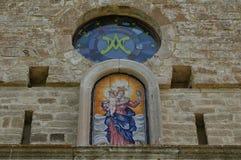 Santa maria abbey of Casalpiano Stock Images