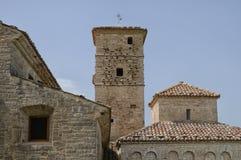 Santa maria abbey of Casalpiano Stock Photography