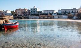 Santa Maria Al Bagno editorial stock image. Image of town - 97689499