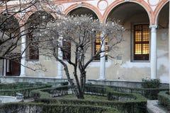 Santa maria alle grazie church milan,milano  expo2015 cloister by bramante Stock Image