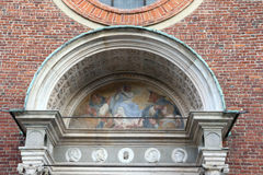 Santa maria alle grazie church milan,milano expo2015 Royalty Free Stock Photography