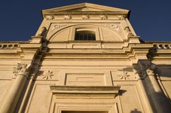 Santa Maria Assunta Anguillara Sabazia Royaltyfri Fotografi