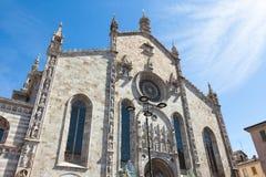 Santa Maria Assunta cathedral in Como city near Milan in Italy. Santa Maria Assunta cathedral in Como city near Milan - Italy Royalty Free Stock Image