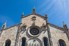 Santa Maria Assunta cathedral in Como city near Milan in Italy. Santa Maria Assunta cathedral in Como city near Milan - Italy Stock Photos