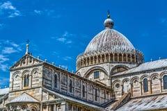 Santa Maria Assunta cathedral in Piazza dei Miracoli. In Pisa, Italy Stock Photography