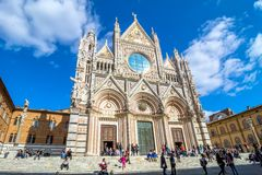 Santa Maria Assunta Cathedral in Siena, Italy Royalty Free Stock Photo