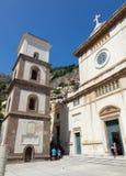 Santa Maria Assunta Church en Positano fotos de archivo