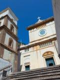 Santa Maria Assunta Church en Positano foto de archivo