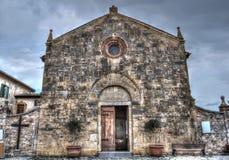 Santa Maria Assunta church facade Royalty Free Stock Photo
