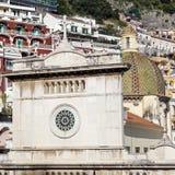 Santa Maria Assunta Church in Positano Royalty Free Stock Photo