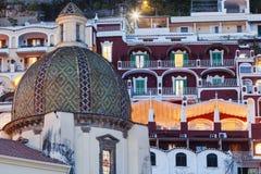 Santa Maria Assunta Church in Positano Stock Photo