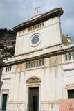 Santa Maria Assunta Church in Positano royalty free stock images