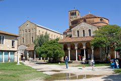 Santa Maria Assunta and Church of Santa Fosca Stock Photography