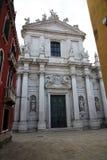 Santa Maria Assunta detta Ja Gesuiti w Wenecja Wenecja, Veneto, I Obraz Royalty Free