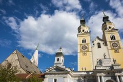 Santa Maria Assunta i San Cassiano churchin Bressanono Brixen, Italy 4 zdjęcie stock