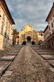 Santa Maria Assunta in Orta, Italy Stock Photography