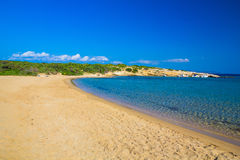 Santa Maria beach, Paros island, Cyclades, Aegean, Greece Stock Photos