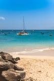 Santa Maria beach in Sal Island Cape Verde - Cabo Verde Stock Photos