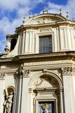Santa Maria binnen via in Rome Royalty-vrije Stock Foto's