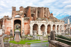 Santa Maria Capua Vetere Amphitheater. In Capua city, Italy in december 2009 Stock Photo