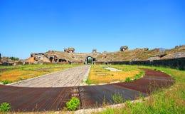 Santa Maria Capua Vetere Amphitheater in Capua city. Italy Royalty Free Stock Image