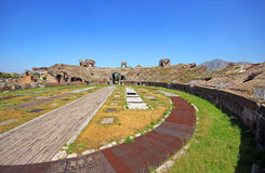 Santa Maria Capua Vetere Amphitheater in Capua city. Italy Royalty Free Stock Photos