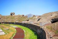 Santa Maria Capua Vetere Amphitheater in Capua city Royalty Free Stock Photography