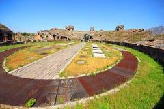 Santa Maria Capua Vetere Amphitheater in Capua city. Italy Royalty Free Stock Photo