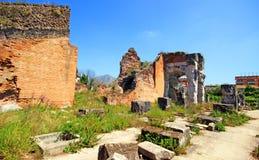 Santa Maria Capua Vetere Amphitheater in Capua city Stock Photography