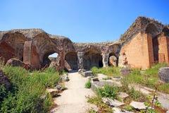 Santa Maria Capua Vetere Amphitheater in Capua city Stock Image