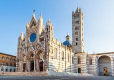 Santa Maria Cathedral in Siena, Italy Royalty Free Stock Image