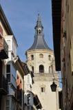 Santa Maria Cathedral of Vitoria, Spain Royalty Free Stock Images