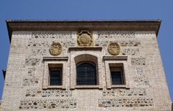 Santa Maria Chruch, Alhambra, Granada, Spain Royalty Free Stock Photos
