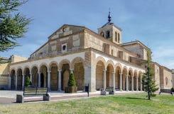 Santa Maria Church à Olmedo image libre de droits