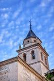Santa Maria Church Alhambra Granada Andalusia Spanien Stockfotos