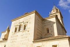 Santa Maria church, Alhambra, Granada, Spain Stock Photos