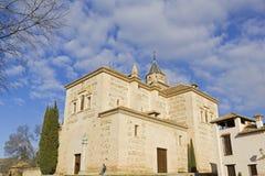 Santa Maria church, Alhambra, Granada, Spain Stock Photography