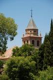 Santa Maria church, Alhambra Palace. Royalty Free Stock Images