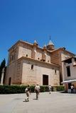 Santa Maria church, Alhambra Palace. Stock Images