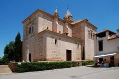 Santa Maria church, Alhambra Palace. Stock Image