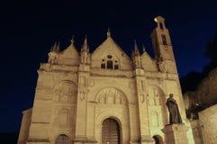 Santa Maria church, Antequera, Spain. Santa Maria church in the Plaza de Santa Maria at night, Antequera, Malaga Province, Andalusia, Spain, Western Europe Royalty Free Stock Photo