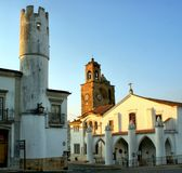 Santa Maria church in Beja Stock Images