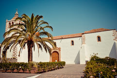 Santa Maria church in Betancuria. Fuerteventura royalty free stock image