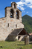 Santa Maria church in Cardet Stock Photo