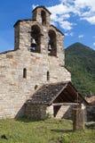 Santa Maria church in Cardet Stock Photo