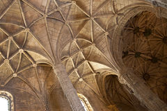 Santa Maria church ceiling Royalty Free Stock Image