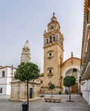 Santa Maria Church, Ecija, Spanje royalty-vrije stock afbeeldingen